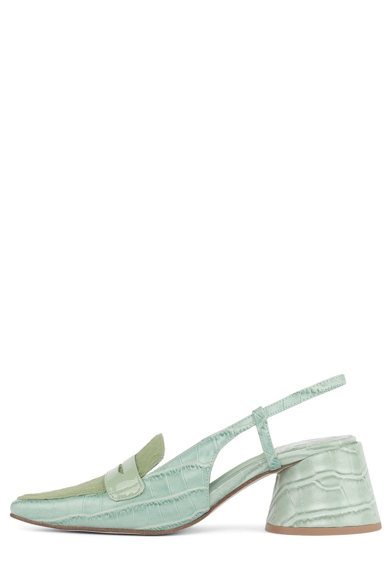 FERWAY Pump Jeffrey Campbell Mint Exotic Combo 6