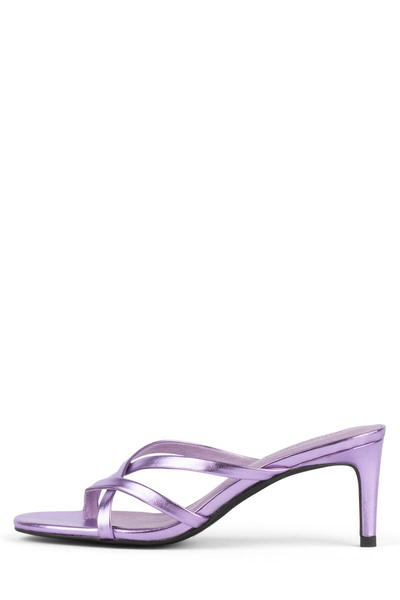FICELLE Heeled Sandal ST Lilac Metallic 6