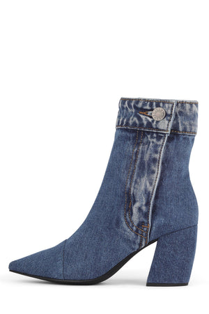 FINITE-JN Heeled Boot ST Blue Denim 6