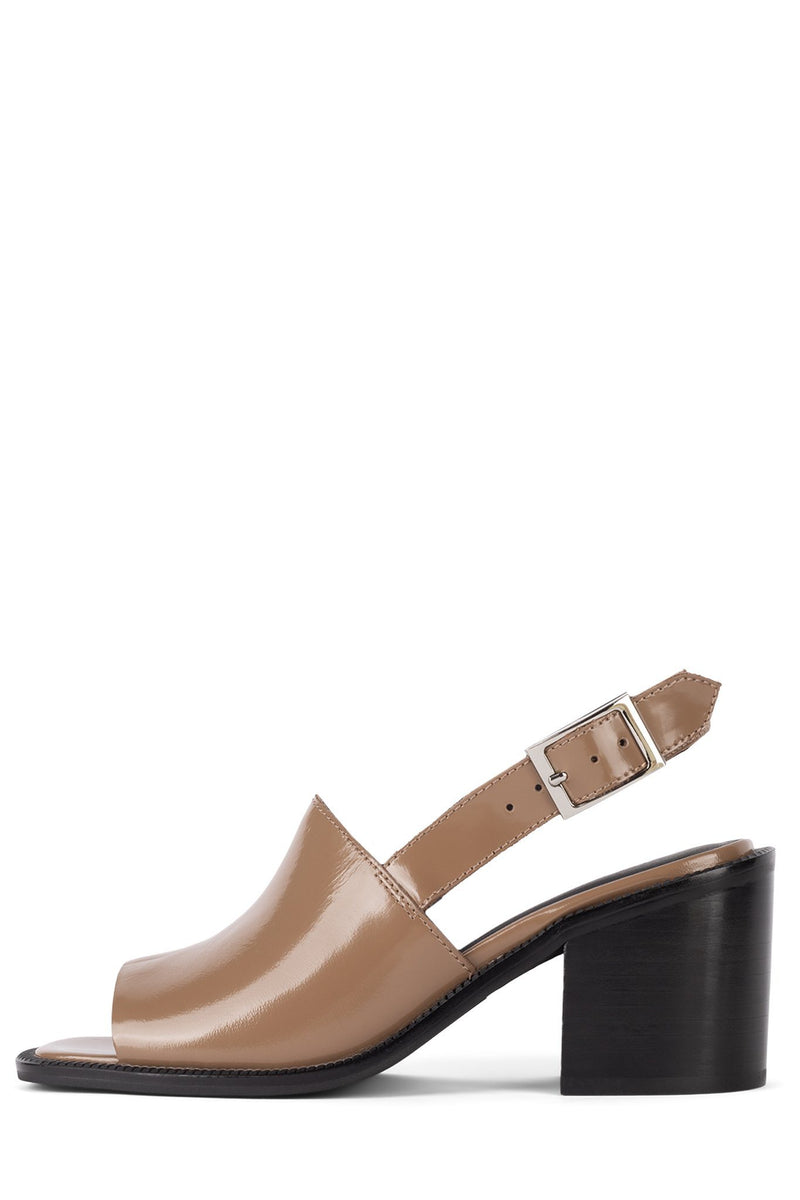 FLANDER Heeled Sandal STRATEGY Nude Box 6