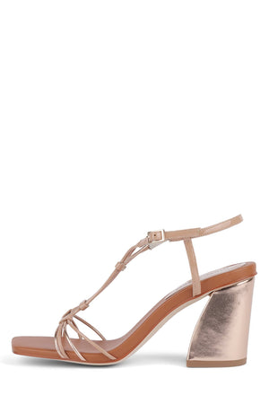 FLOWERET Heeled Sandal YYH Rose Metallic Multi 6