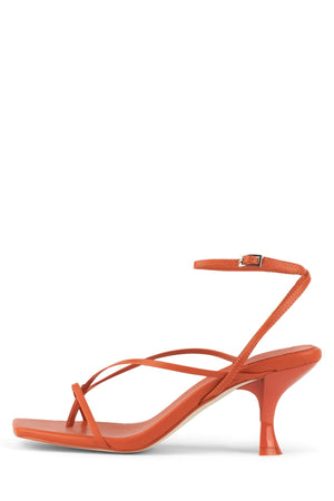 FLUXX Heeled Sandal Jeffrey Campbell Orange 6