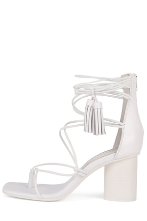 GALATEA Heeled Sandal Jeffrey Campbell White 6