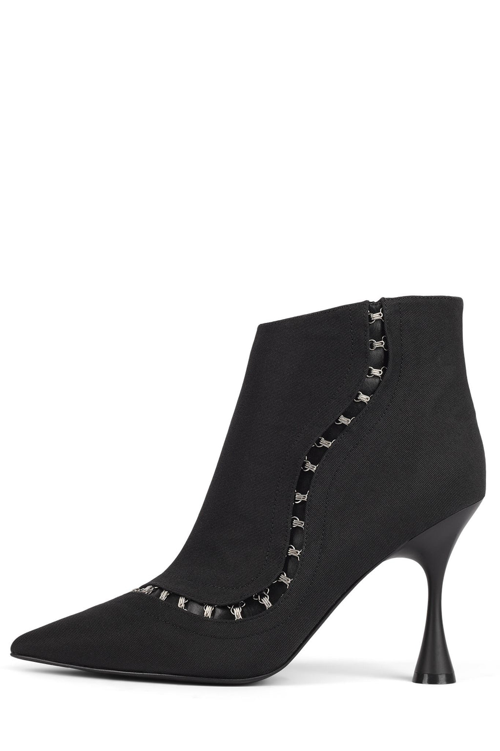 GIRDLE Heeled Bootie ST Black Faille 6
