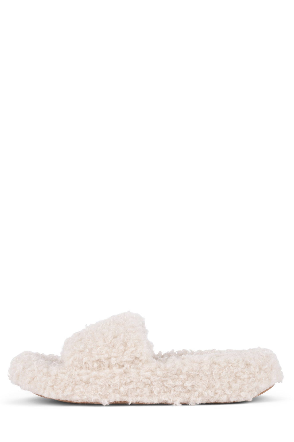 GOODNIGHT Slippers Jeffrey Campbell Ivory 6