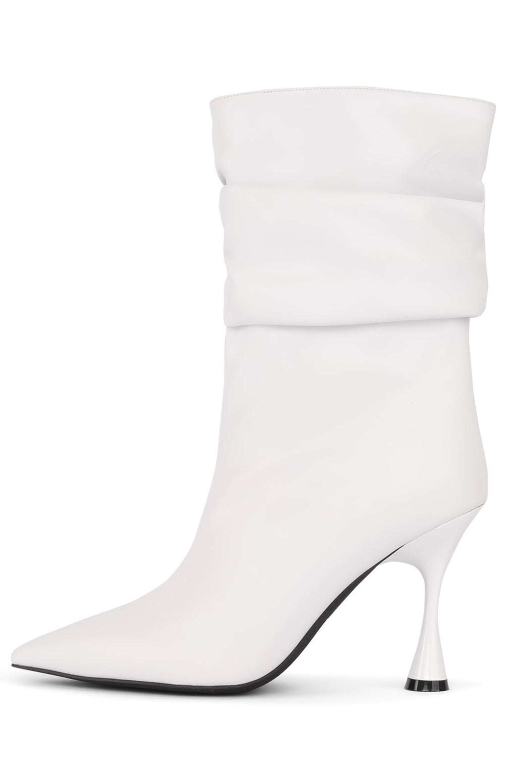 GUILLAUME Mid-Calf Boot Jeffrey Campbell White 6