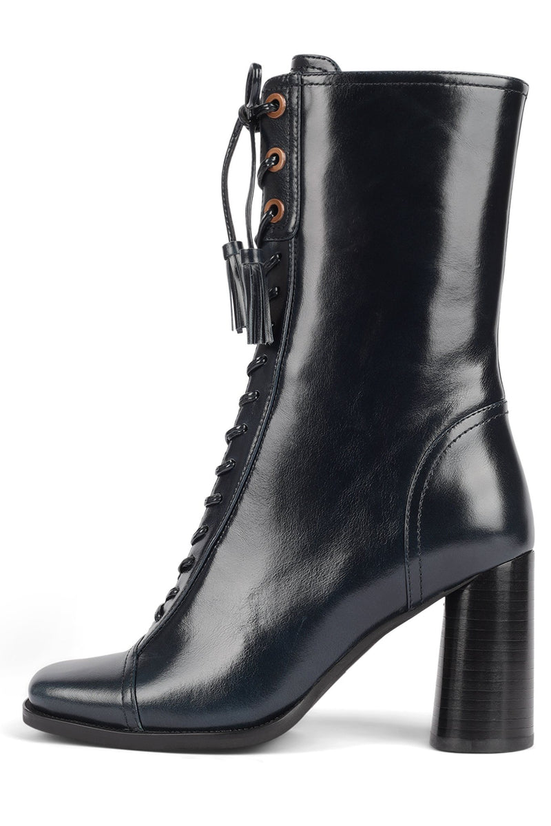 HUNTS Mid-Calf Boot STRATEGY Navy 6