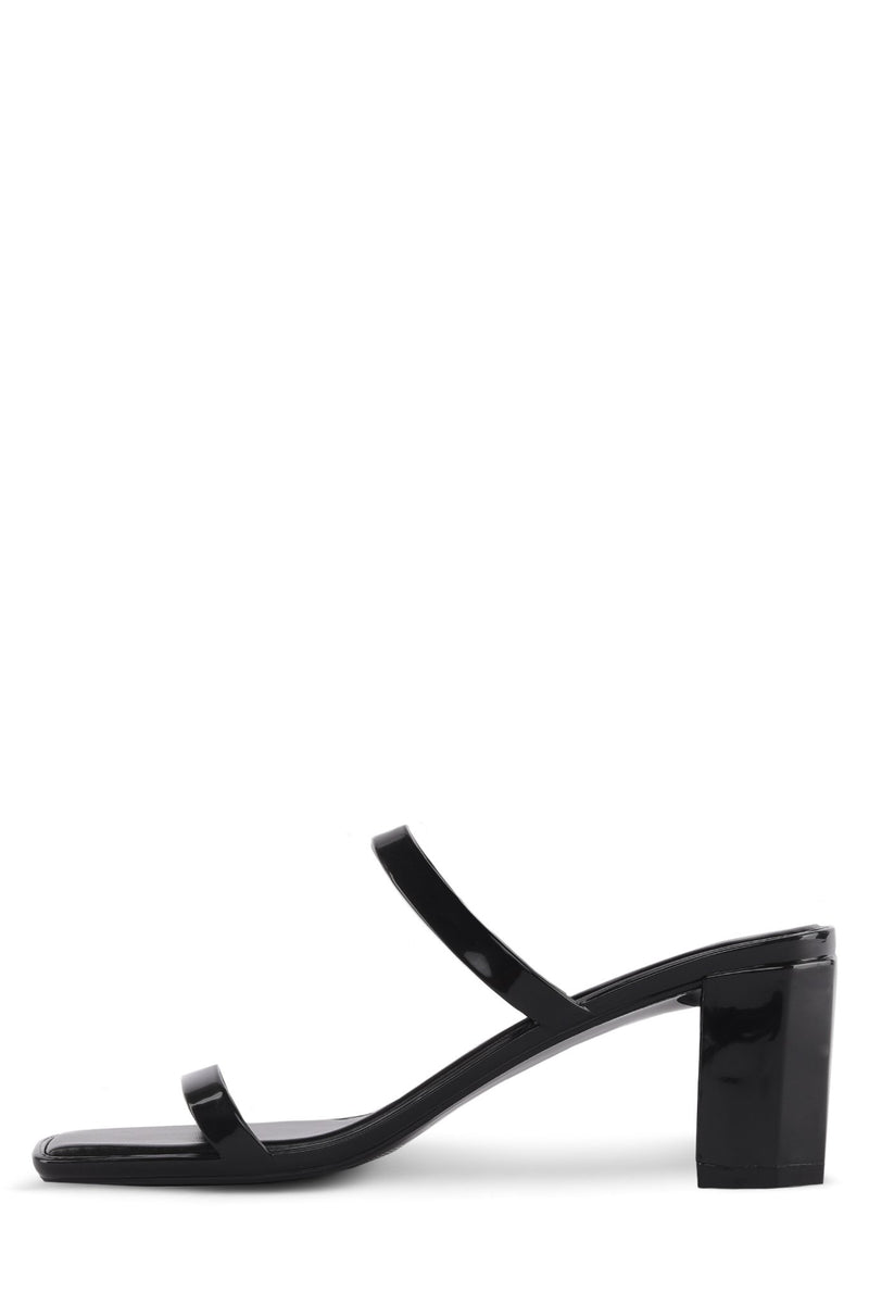 JAMM-2 Heeled Sandal Jeffrey Campbell Black Shiny 6