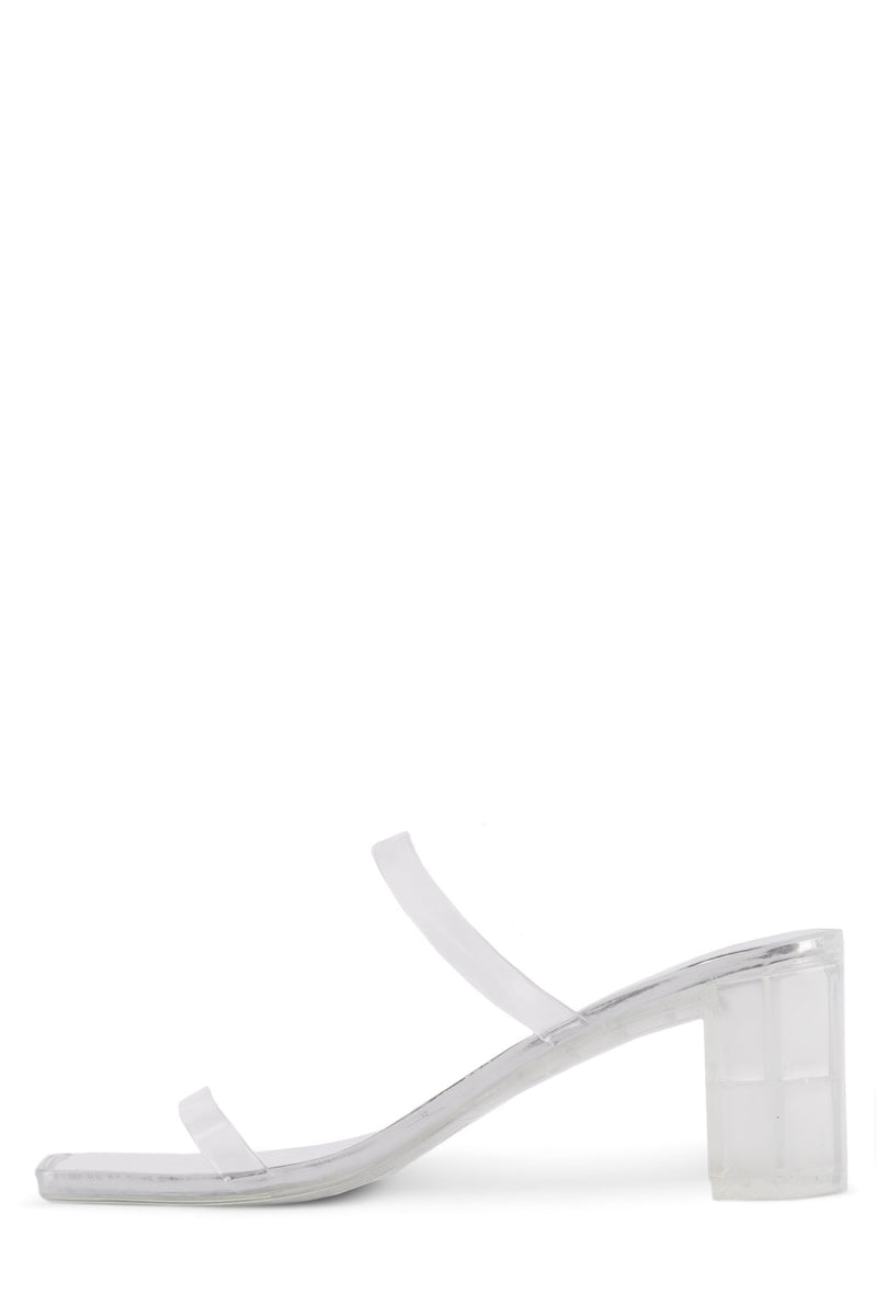 JAMM-2 Heeled Sandal Jeffrey Campbell Clear 6