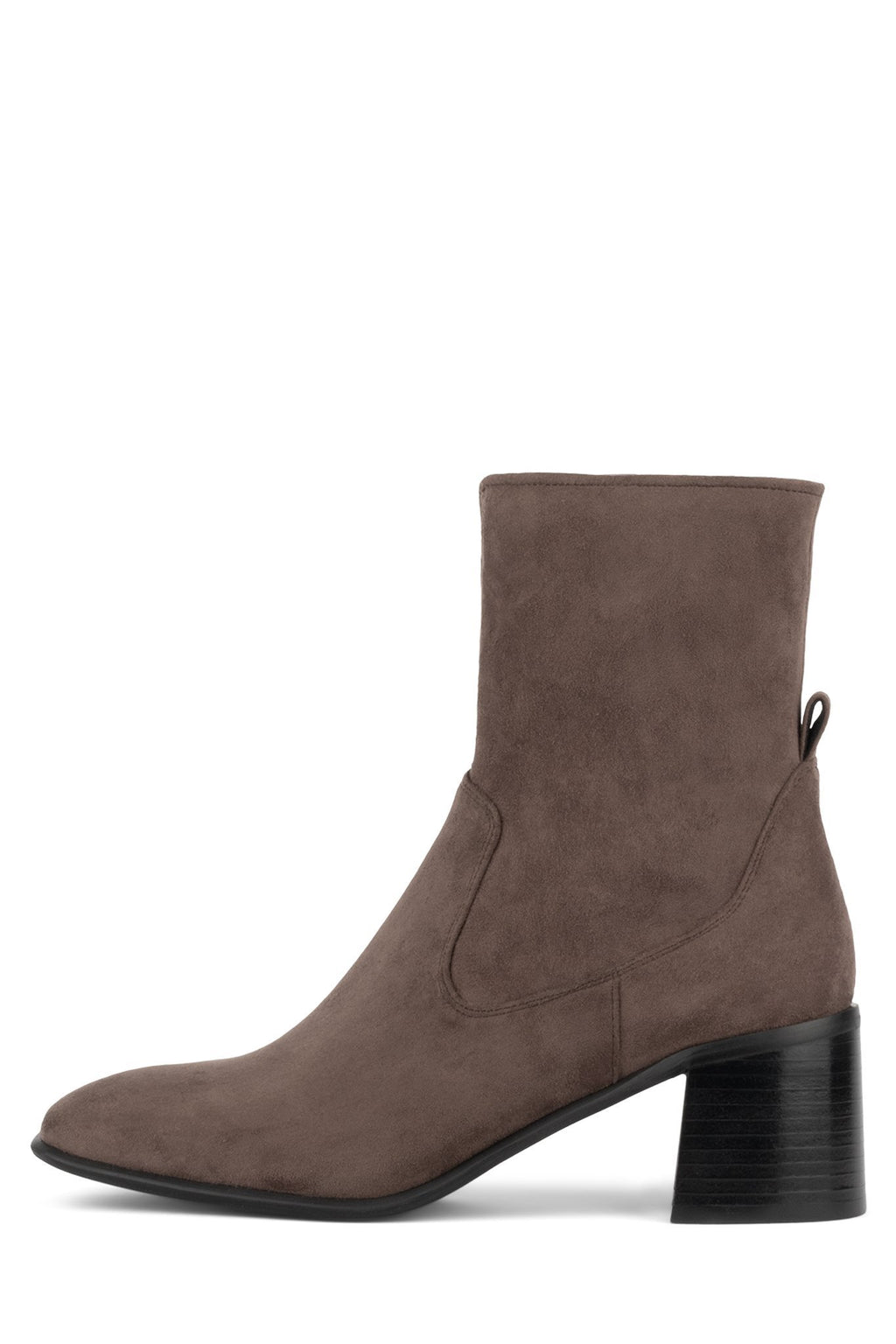 JEREM Bootie Jeffrey Campbell Taupe Suede 6