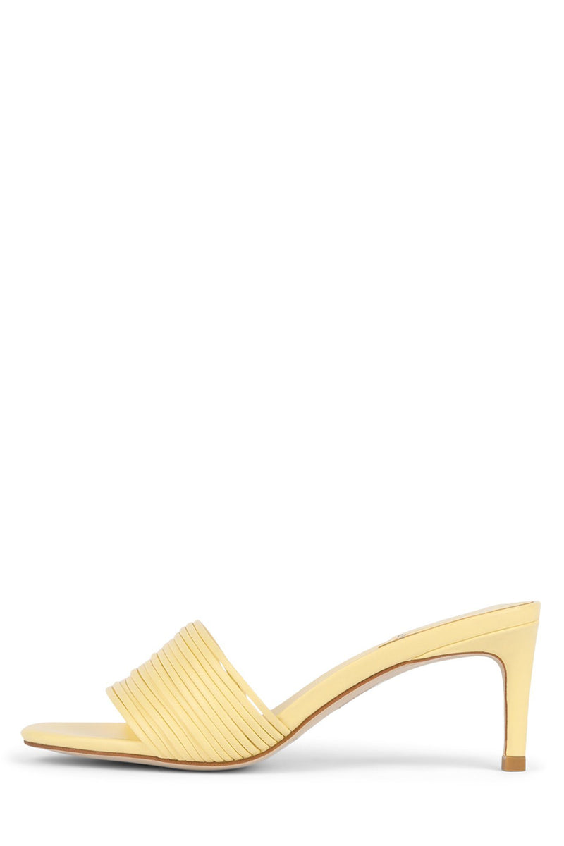 KACEY Heeled Sandal STRATEGY Yellow Pastel 6