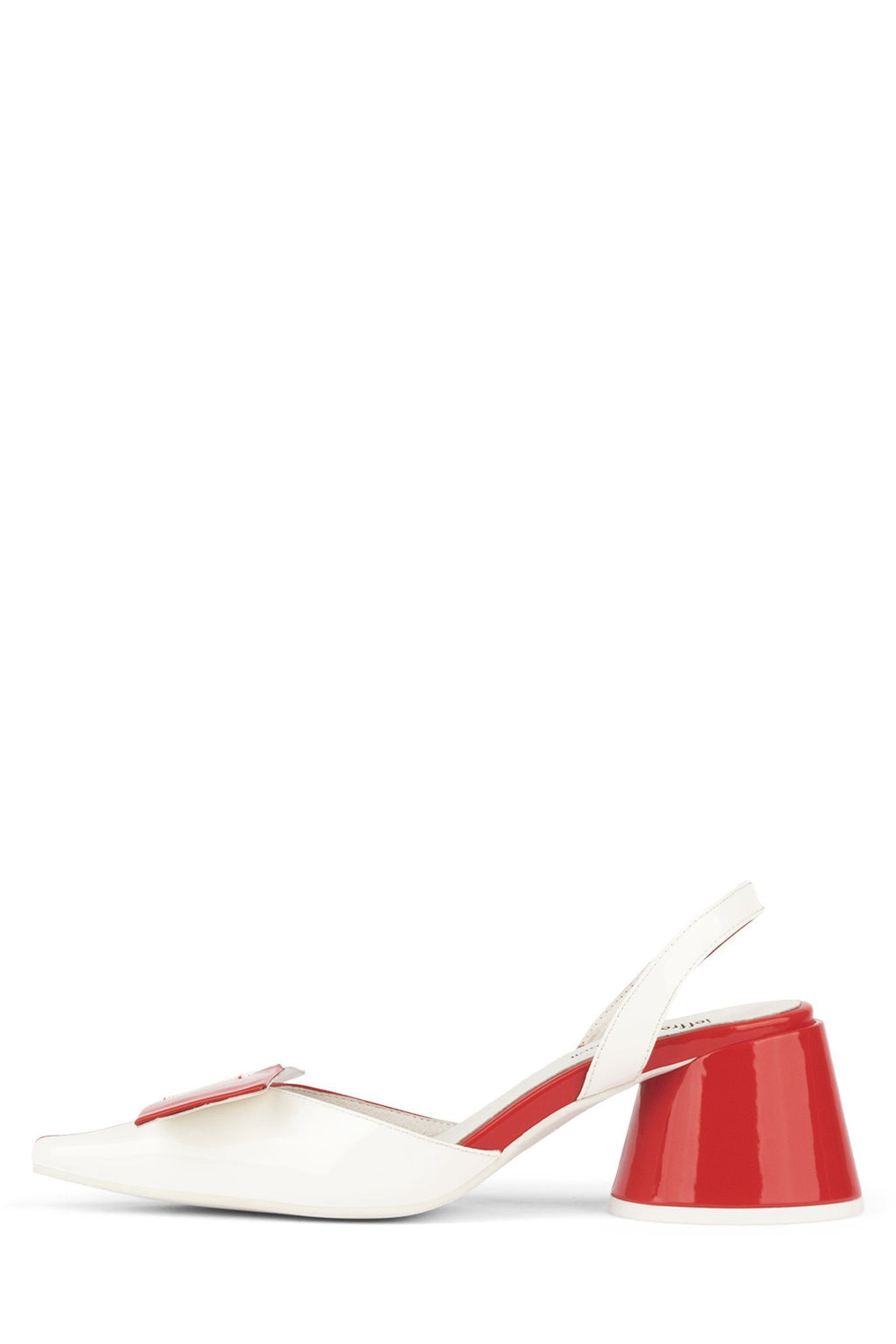 KARI Pump ST Red Patent White Patent 6