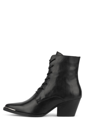 KELAM-LU Heeled Bootie Jeffrey Campbell Black 6