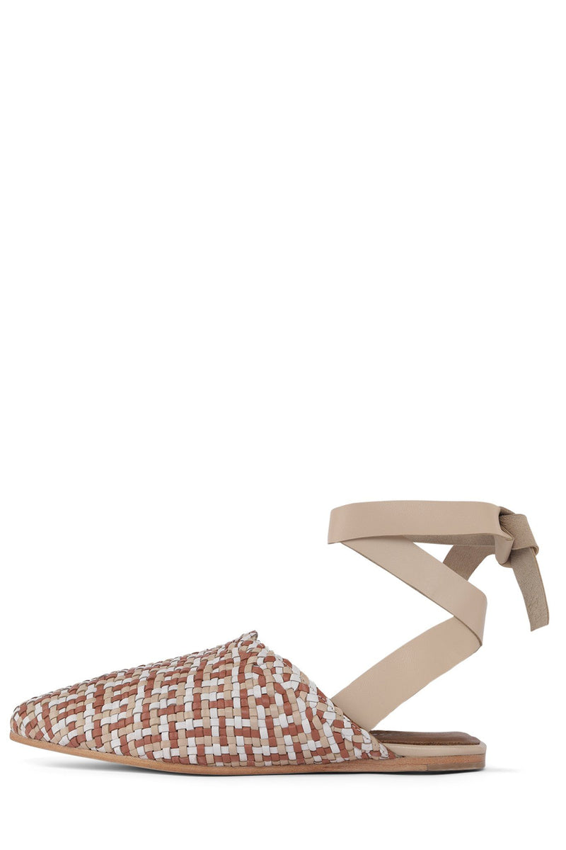 KHALEESI Flat Sandal Jeffrey Campbell Neutral Multi 6