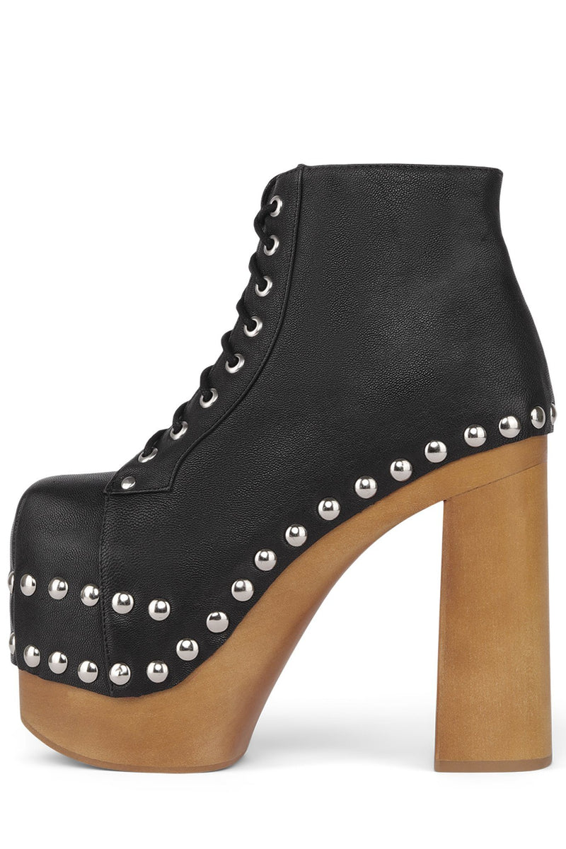 LALITA Platform Boot Jeffrey Campbell Black 6