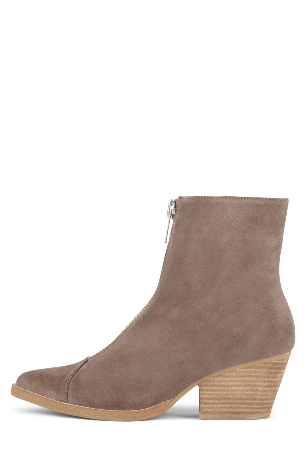 LANDYN Bootie Jeffrey Campbell Taupe Suede 6