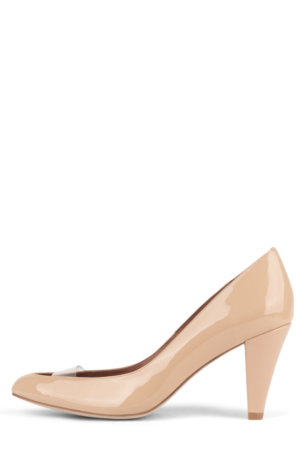 LASSIE Pump ST Nude Patent Clear 6