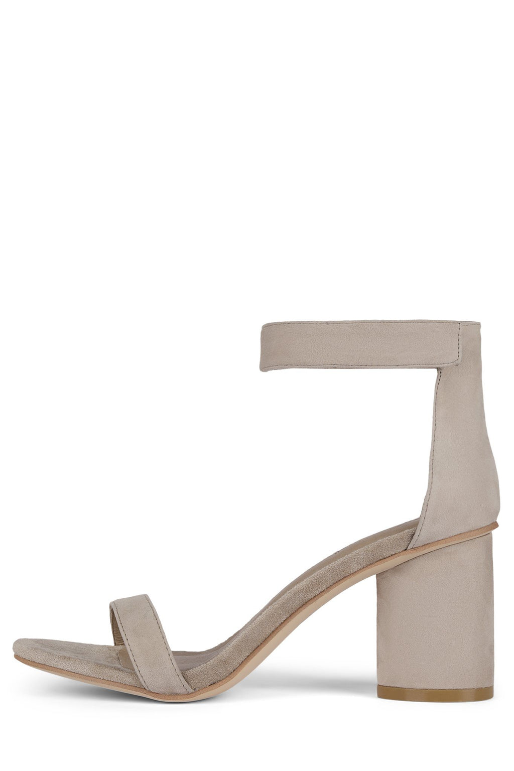 LAURA Heeled Sandal Jeffrey Campbell Taupe Suede 6