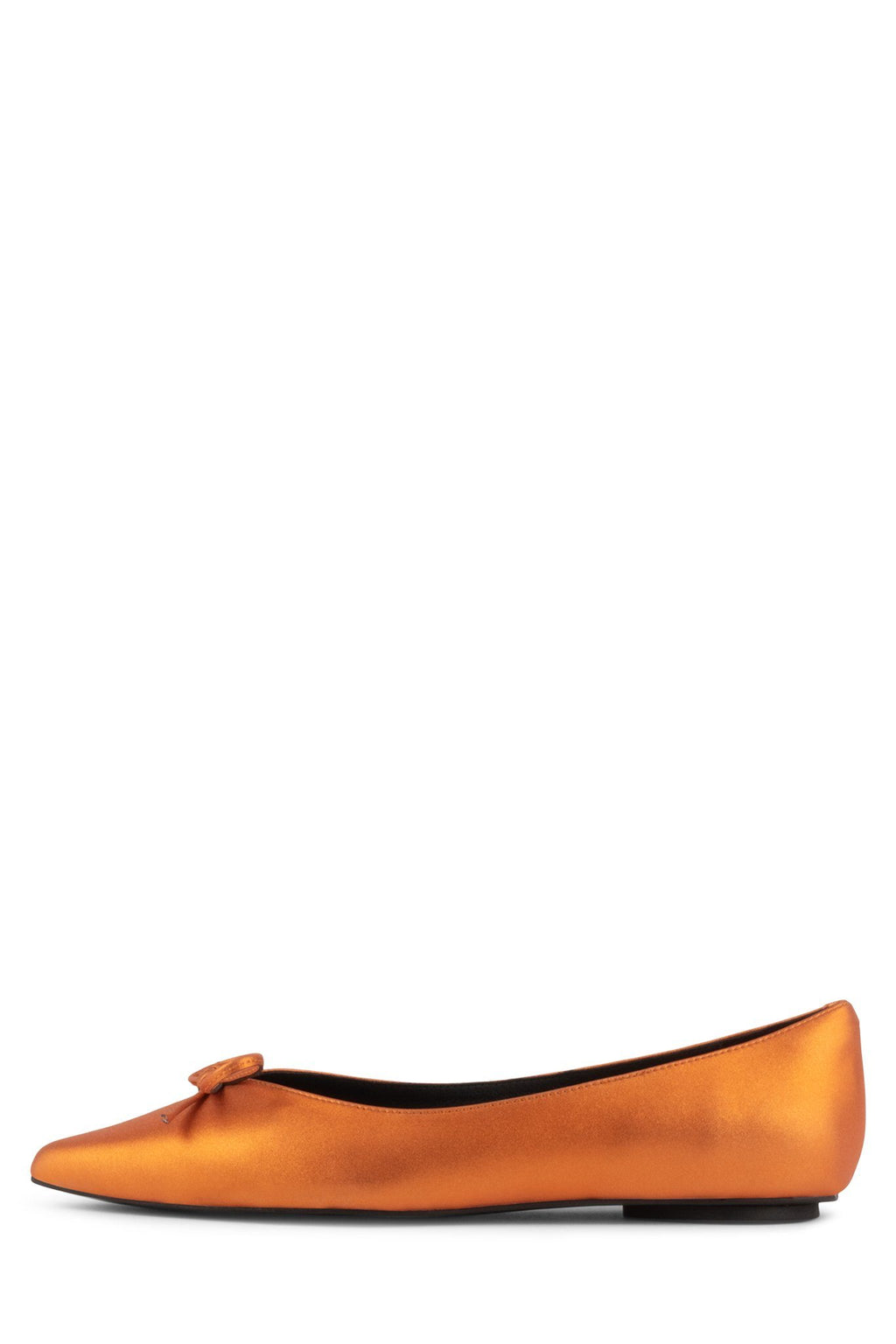 LAVINIA Flat DV Orange Metallic 6