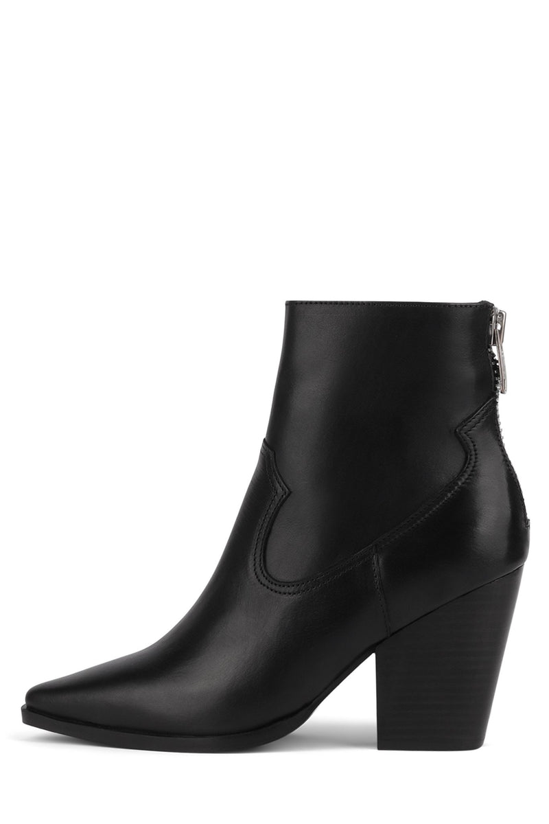 LELSEY Heeled Bootie Jeffrey Campbell Black 6