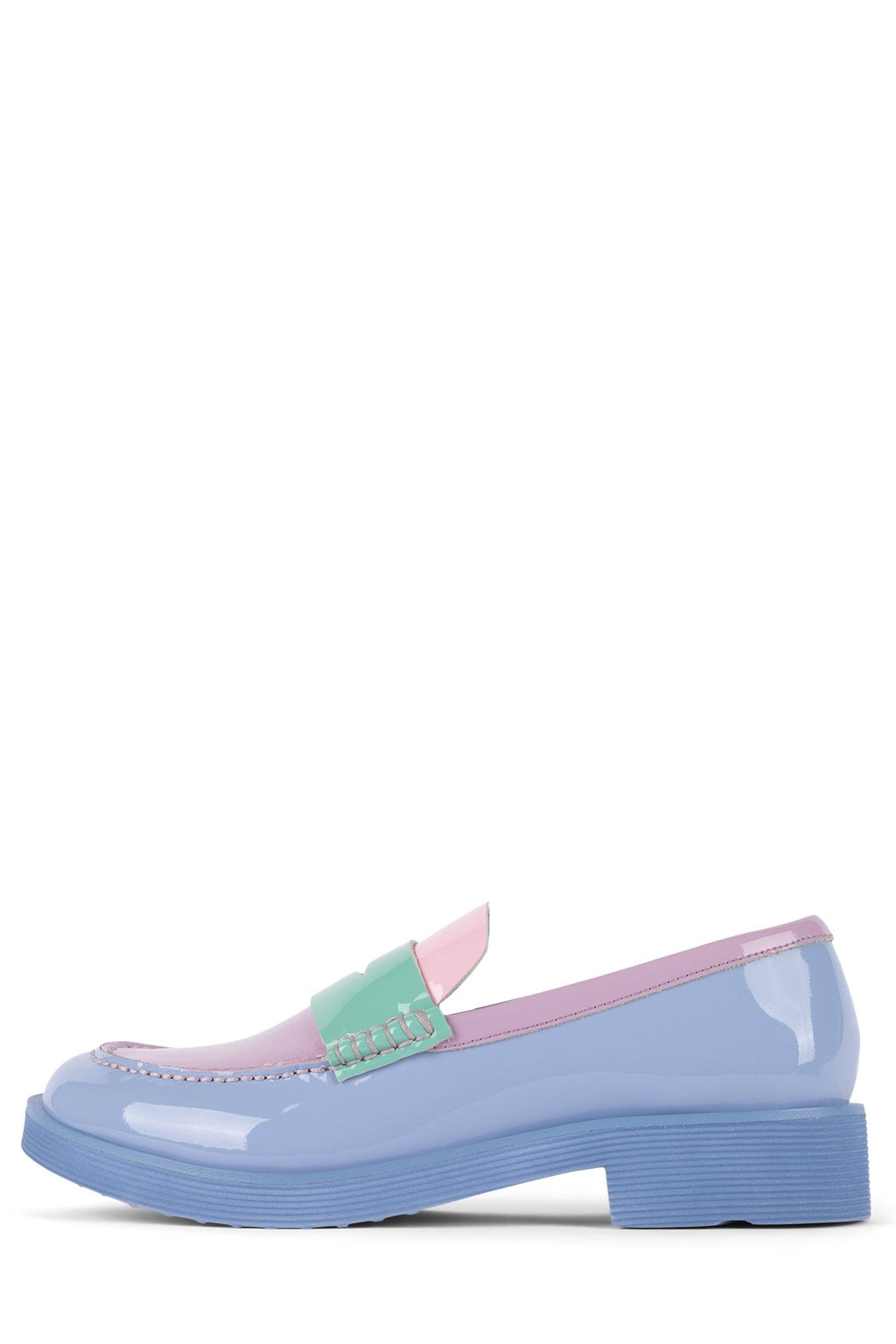 LENNA YYH Periwinkle Patent Multi 6
