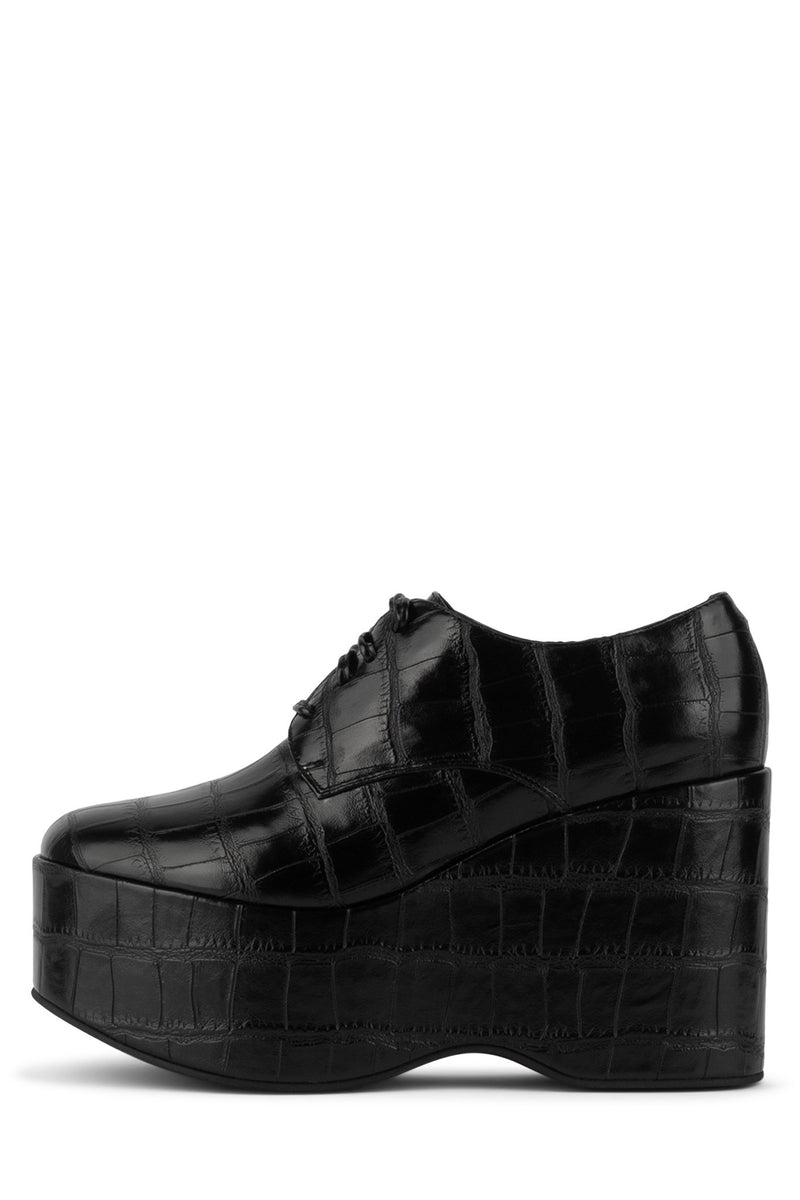LEONIE Oxford YYH Black Croco 6