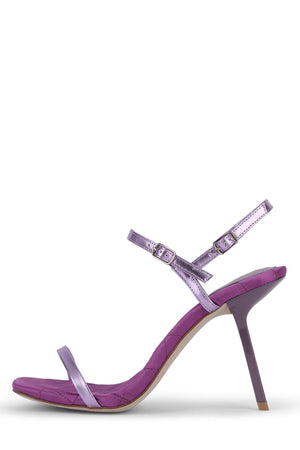 LOYAL Heeled Sandal ST Lilac Metallic Combo 6