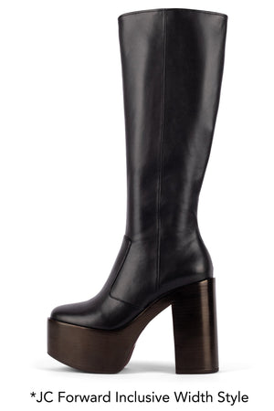LYRA Knee-High Boot YYH Black 5W