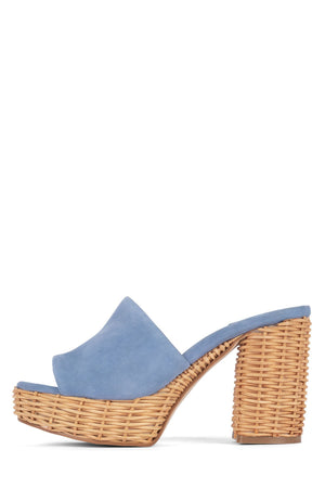 MAGDA-WKR HS Blue Suede 5