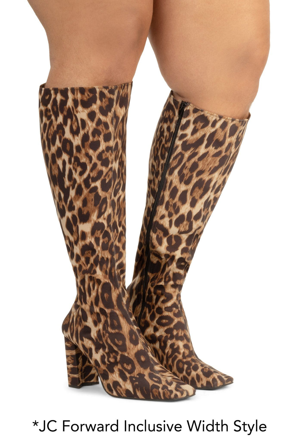 MALLGRAB-K Knee-High Boot RB Cheetah 6W
