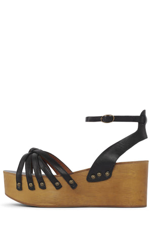 MANDIE Wedge Sandal HS Black 6