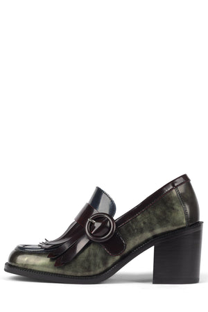 MARGEY Loafer STRATEGY Green Ruboff 6