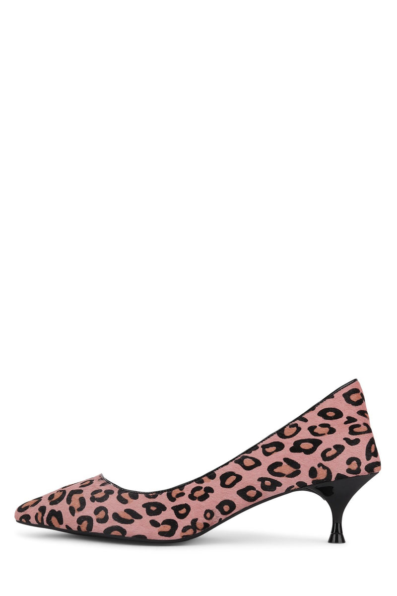 MARVEL-2F Pump ST Pink Black Cheetah 6