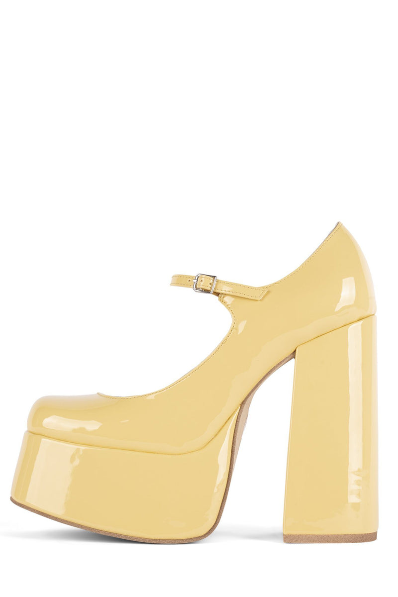 MARY-J Mary-Jane HS Yellow Patent 5