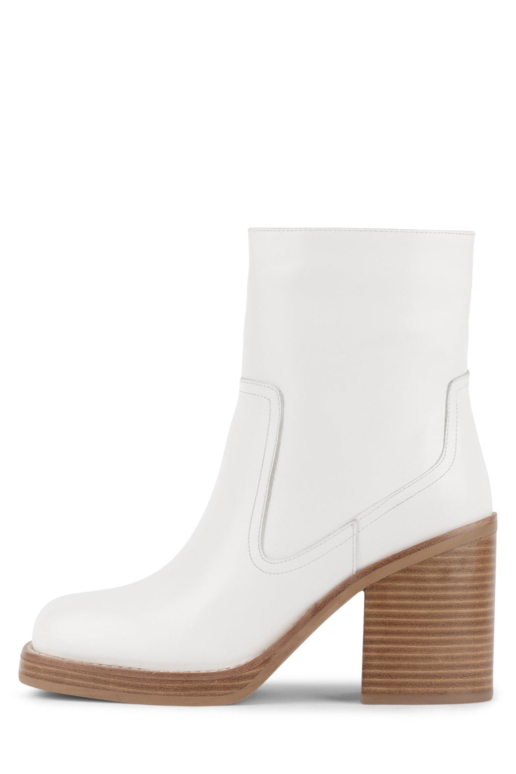 MAXEN Heeled Boot YYH White 6