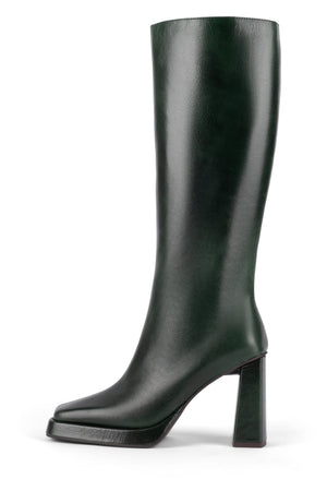 MAXIMAL Knee-High Boot YYH Dark Green 6