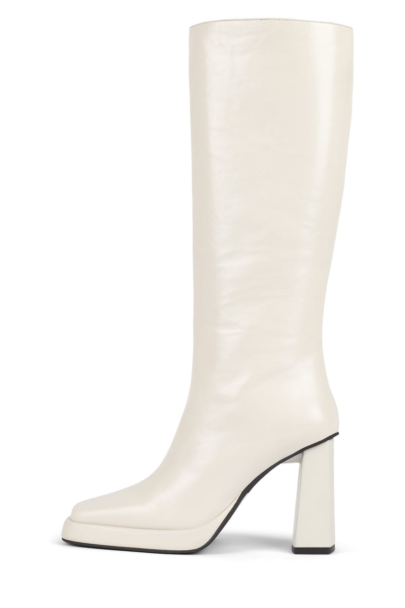 MAXIMAL Knee-High Boot YYH White 6