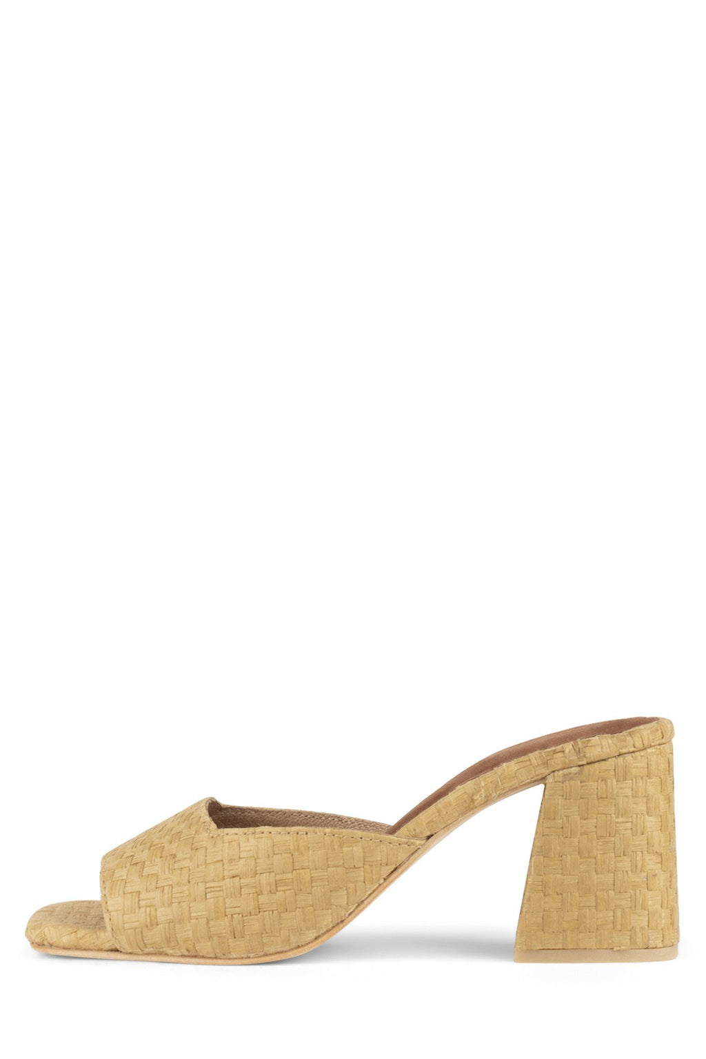 MELANGE-2 Heeled Sandal Jeffrey Campbell Natural 2 6