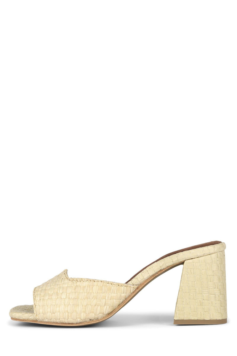MELANGE-3 Heeled Sandal Jeffrey Campbell Natural 6