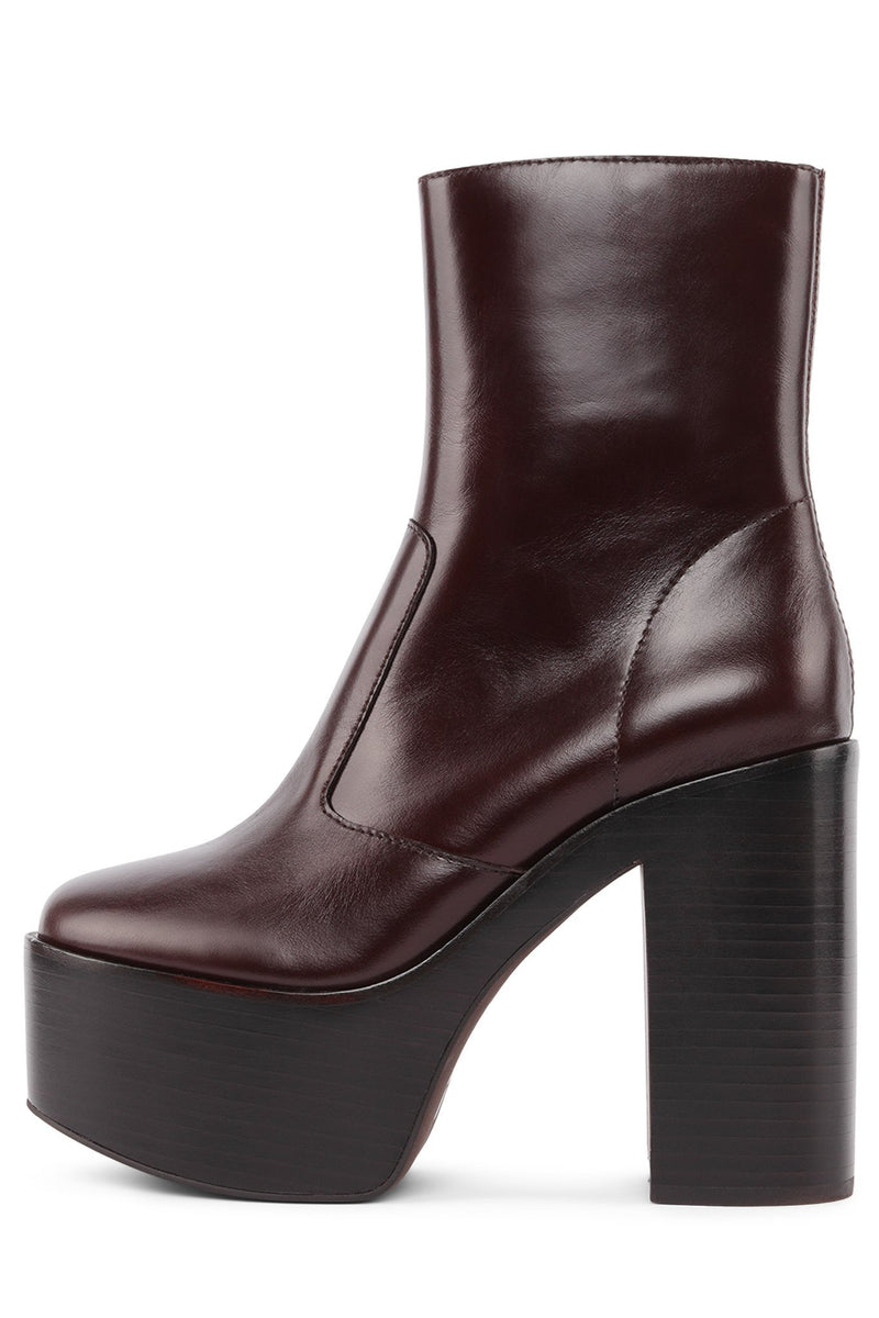 MEXIQUE Platform Boot YYH Brown 6