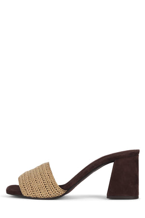 MIXUP Heeled Sandal Jeffrey Campbell Natural 6