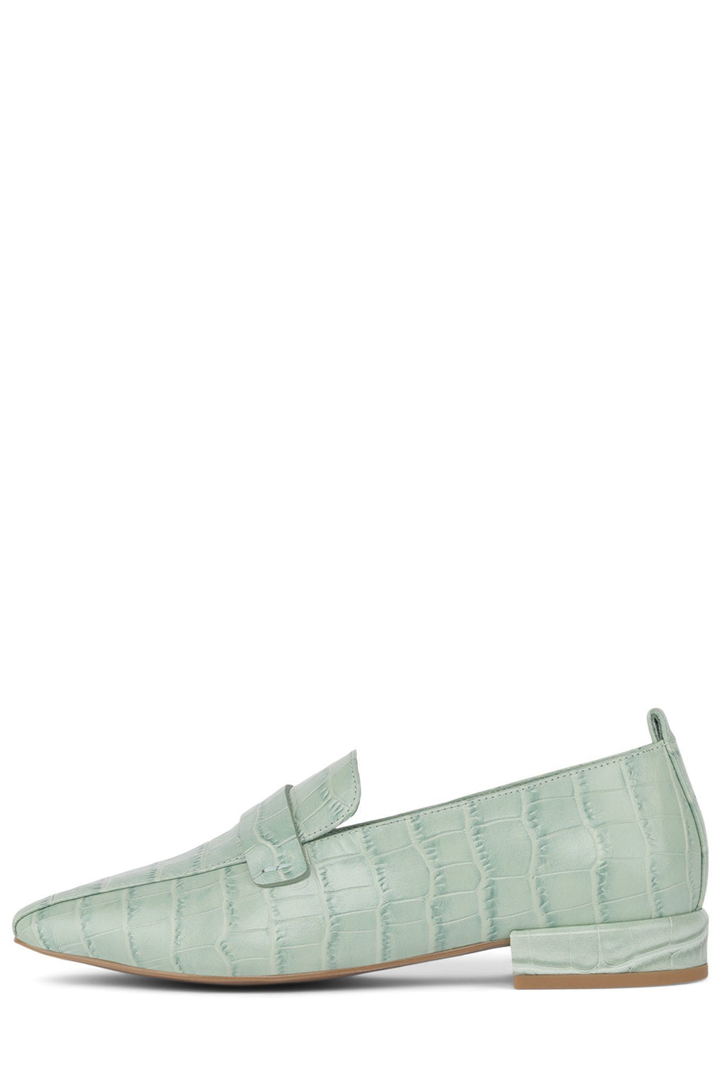 MORITZ Loafer Jeffrey Campbell Mint Croco 5