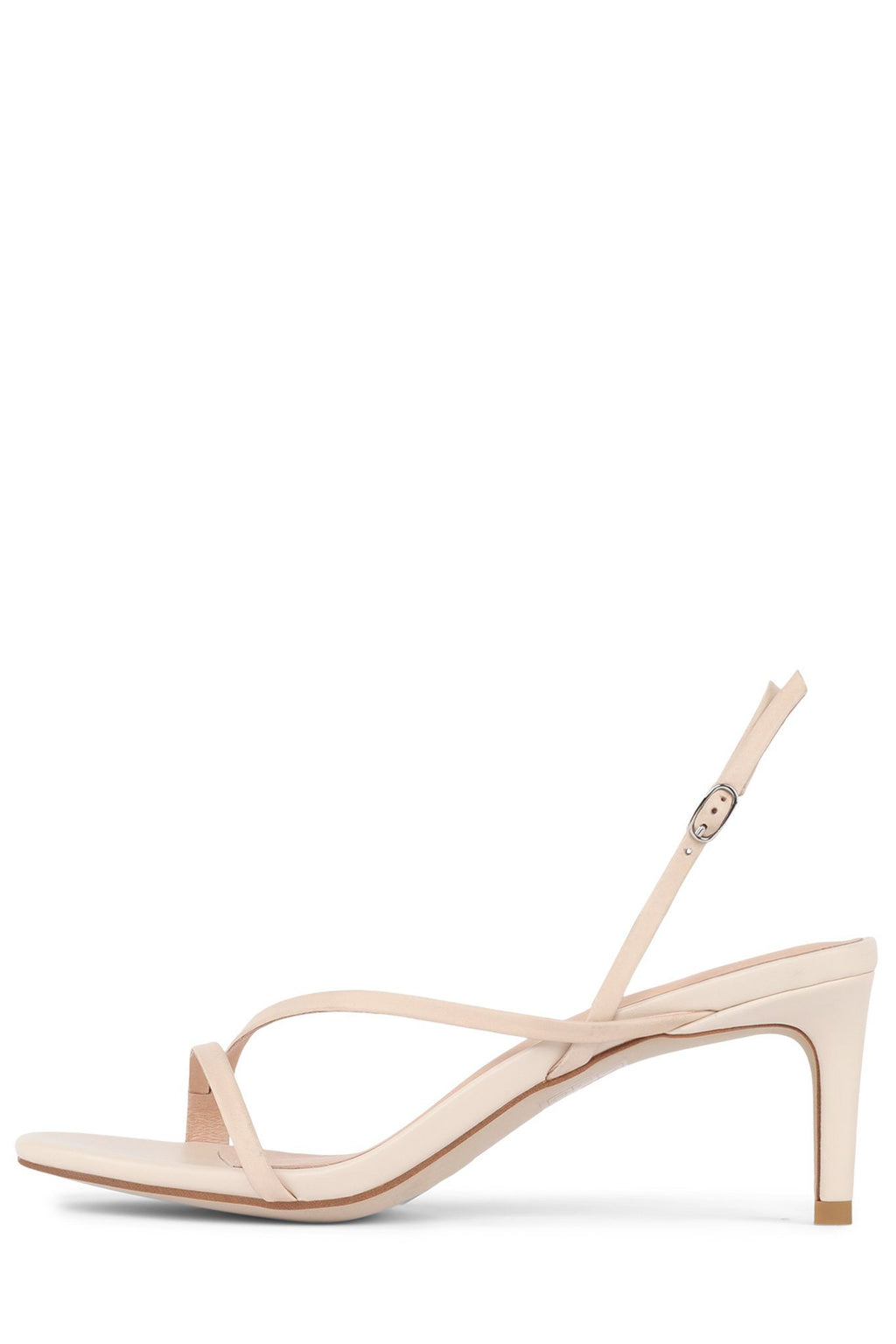 MORPH Heeled Sandal Jeffrey Campbell Natural 5.5