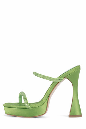 MOVIE Jeffrey Campbell Green Satin Green 6