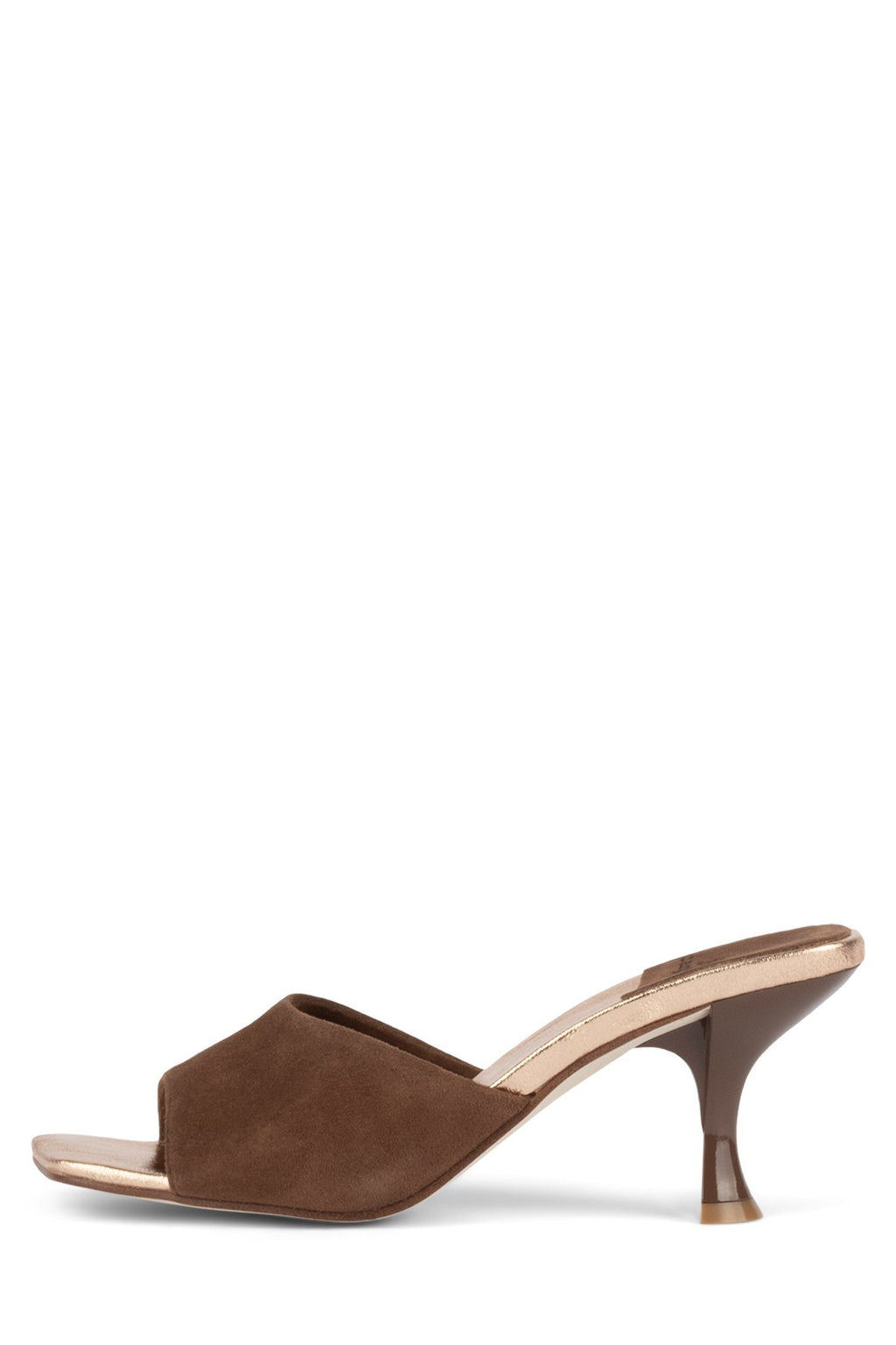 MR-BIG Heeled Sandal YYH Brown Suede Bronze 6