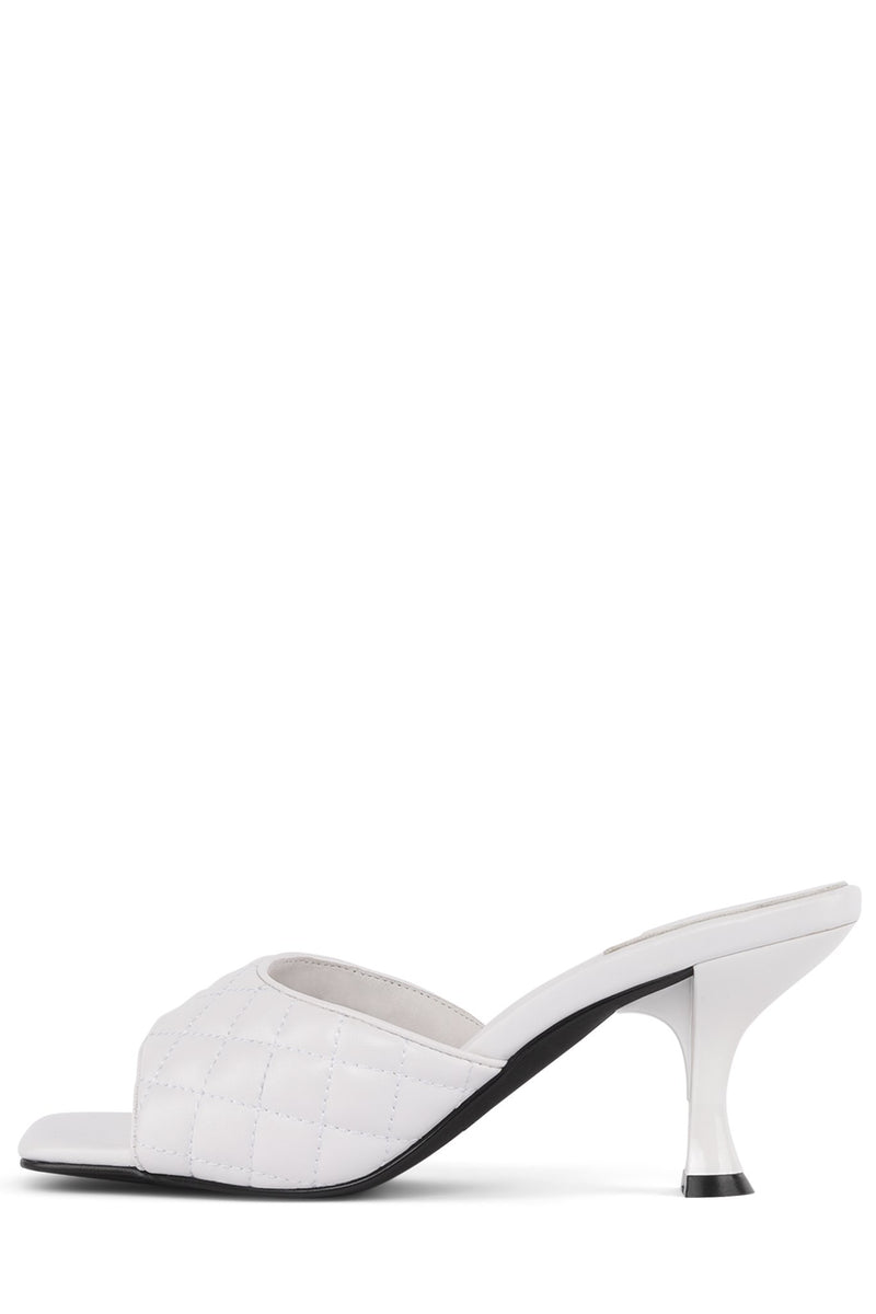 MR-BIG-Q Heeled Sandal Jeffrey Campbell White 6