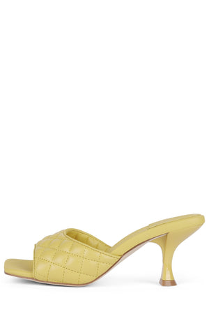 MR-BIG-Q Heeled Sandal Jeffrey Campbell Yellow 6