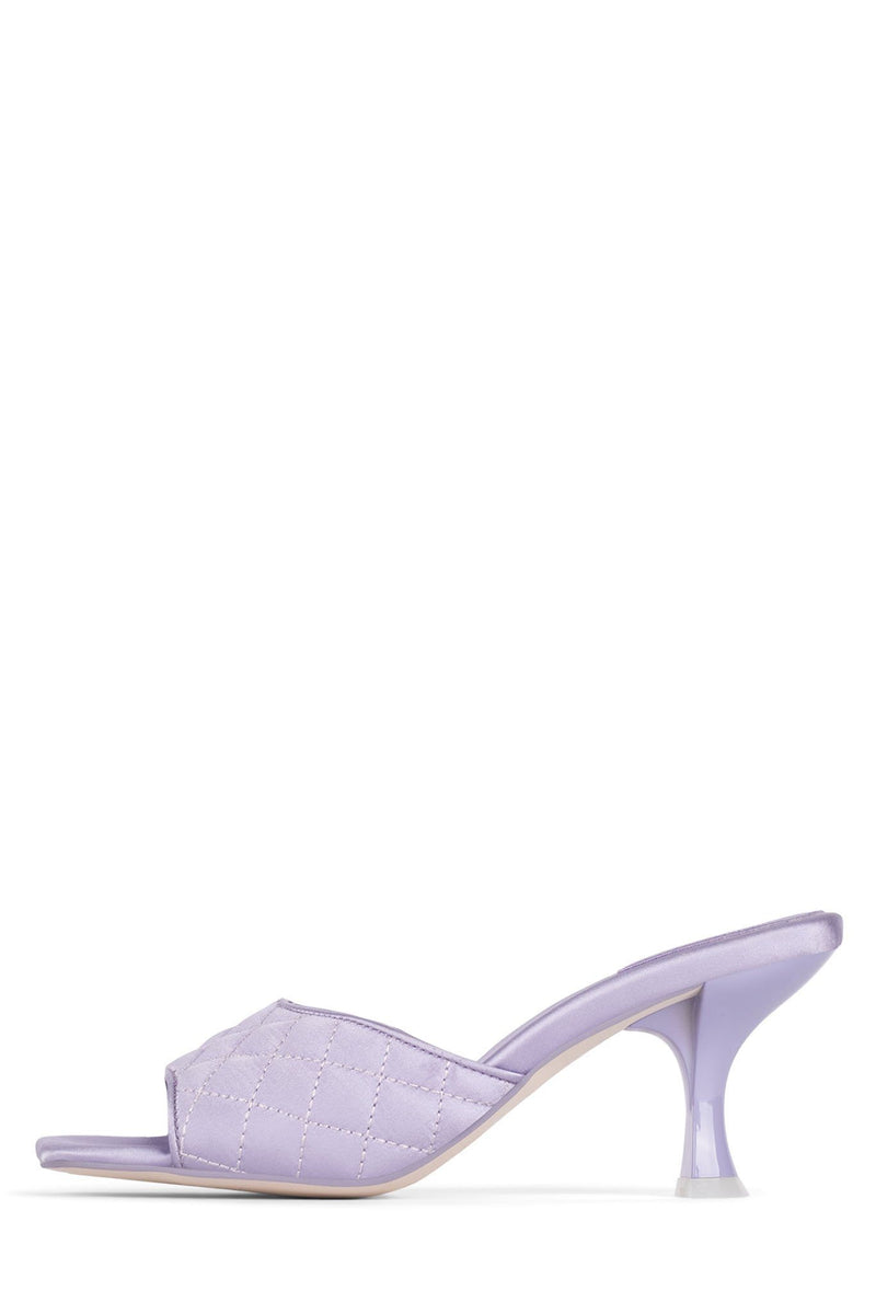 MR-BIG-Q Heeled Sandal YYH Lilac Satin 5