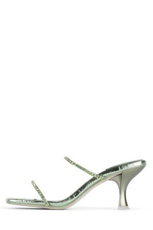MRS-BIG Heeled Sandal YYH Mint Metallic Mint 5