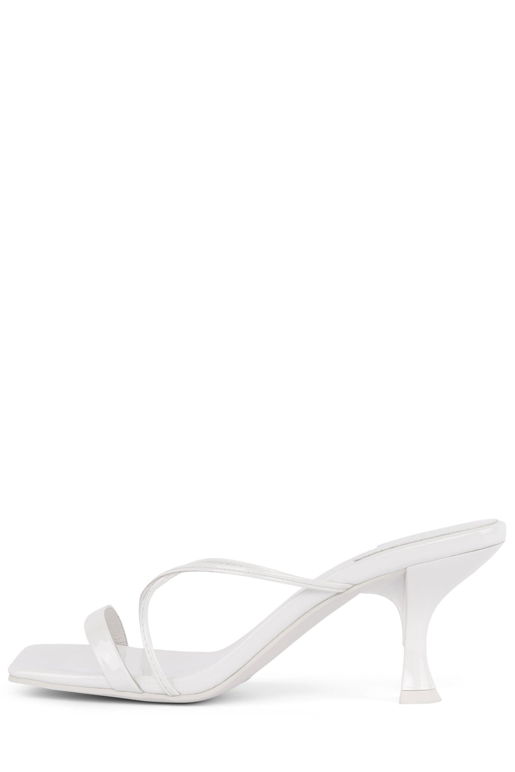 MURAL-2 Heeled Sandal YYH White Patent 6